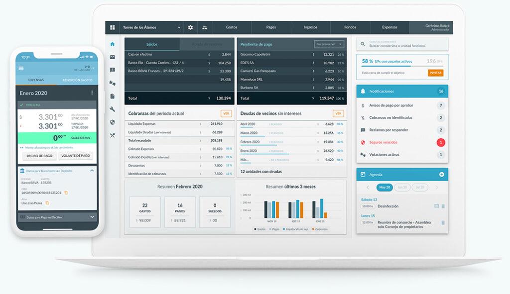 Sistema para administración de consorcios